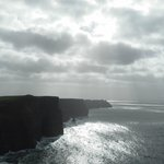 Black and White of Cliffs of Moher