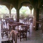 New spacious open air restaurant & bar overlooking Tropical Rainforest