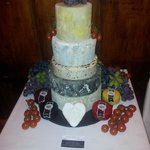 Our veryown wedding cheese cake