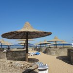 Beach with own spacious areas