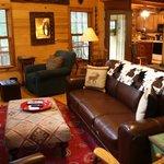 Living Room of Deer Lodge