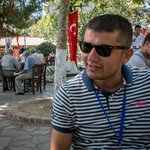 Our terrific guide - Murat - at the Park Cafe