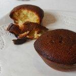 件の「焦げ味」プチケーキ。見た目はチョコ、味は焦げ!まじ、なんだこれ!