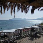 Restaurant on Kalamaki beach