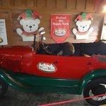 O carro do papai noel!