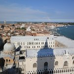 View of Doge's Palace from the Campanile