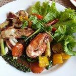 Thai seafood.