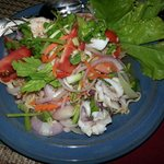 Thai seafood salad.