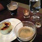 Creme Brulee, espresso