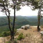 view at Petit Jean Mountain