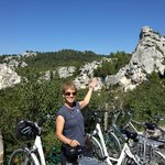 On our way from St. Remy to Baux