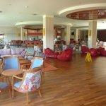 Bar, lounge and dance floor