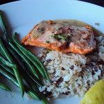 Fresh Salmon dinner..