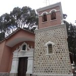 Church at Montículo park