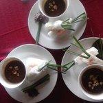 Nice fresh spring roll in HCM Cooking school