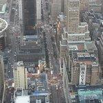 Vista da cidade de Nova York do topo do Empire State