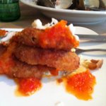 Fried Green Tomatoes Napolion