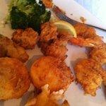 Seafood and Broccolli