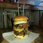 our largest burger