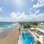 Vue Beach Club Aerial