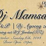 Shamless Invite Sunday 6 October 2013