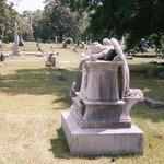 Weeping Angel Monument - Columbus