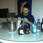 our own bar and my bartender