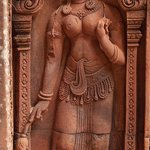 Apsara of the lady's temple