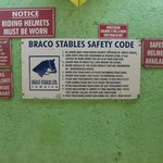 Braco Stables Safety Rules
