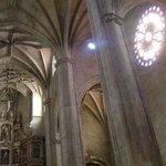 Inside the church R