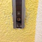 botones rotos del elevador principal