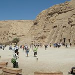 The Temple of Ramses II and the Nefertari's Temple of Hathor at Abu Simbel
