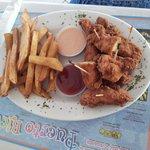 plato de niños nuggets d pollo