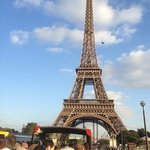 la tour eiffel. la estructura mas fotografiada del mundo