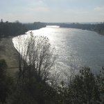 Near monument (River Dniester)