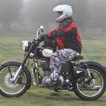 Rider on tour