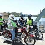Crossing the Hawkesbury River on the Wisemans Ferry punt