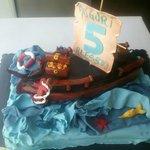cake galeone pirati bimbo