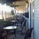 not so private patios! your neighbor is inches from you
