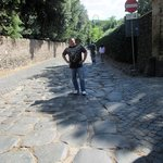 Magdi was very well educated in the History of Rome. He took us to the site of the remaining sto
