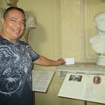 Busts of previous Rulers/Popes of Rome...Hubby says he is next.