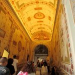 Such beauty throughout the Vatican and its museums. Alessandra taught us so much!