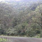Ozarde waterfall trek route