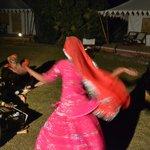 Folk dance in evening
