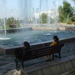 Im Sommer willkommen: Schatten und Wasser!