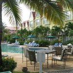 Coco Palm hotel and poolside