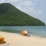 Reduit Beach..quite lovely and serene