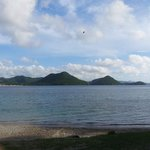 Pigeon Island from afar