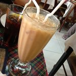 Iced masala tea