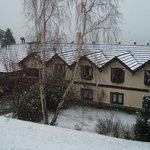 techos llenos de nieve en setiembre